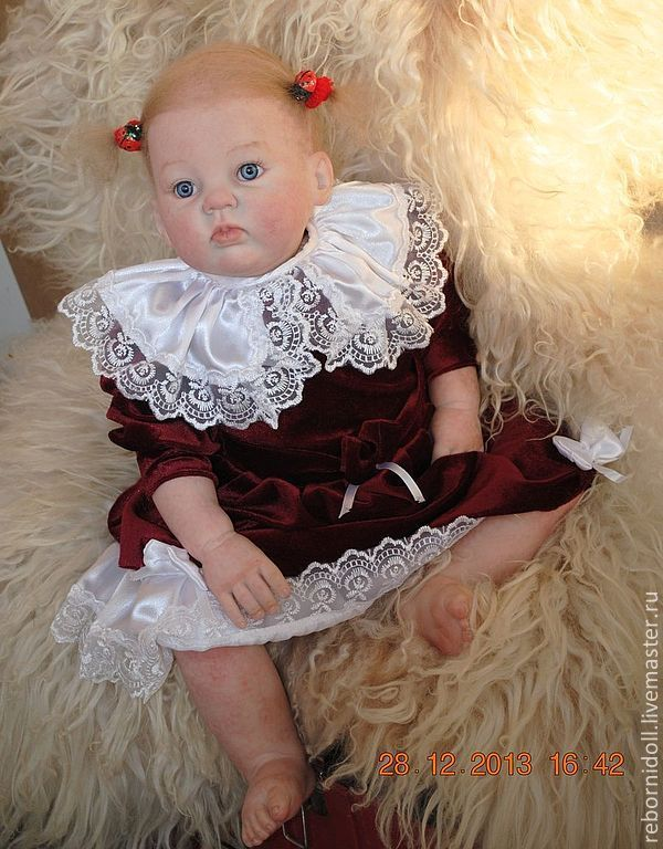Reborn baby doll girl large, Reborn, Sevastopol,  Фото №1