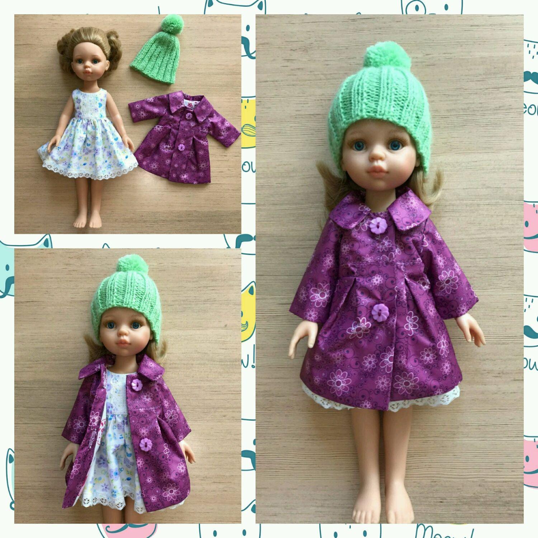 b4dade4d41a2 Одежда для кукол ручной работы. Ярмарка Мастеров - ручная работа. Купить  плащ на куклу ...