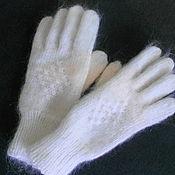 Аксессуары ручной работы. Ярмарка Мастеров - ручная работа перчатки женские пуховые. Handmade.
