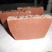 Косметика ручной работы. Ярмарка Мастеров - ручная работа Натуральное мыло на отваре корня марены и цветов сирени. Handmade.