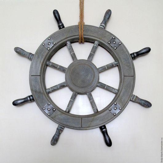 Другие виды рукоделия ручной работы. Ярмарка Мастеров - ручная работа. Купить Штурвал. Handmade. Серый, штурвал, заготовки для творчества