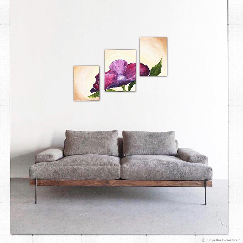 Картины цветов ручной работы. Ярмарка Мастеров - ручная работа. Купить Картина маслом « Цветок». Handmade. Живопись