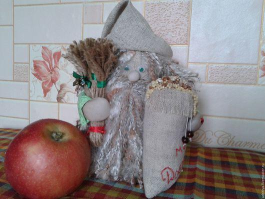 Народные куклы ручной работы. Ярмарка Мастеров - ручная работа. Купить Хозяин Домовой. Handmade. Разноцветный, русский стиль