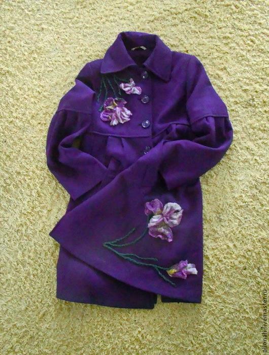 Верхняя одежда ручной работы. Ярмарка Мастеров - ручная работа. Купить Декор пальто. Handmade. Разноцветный, преображение, декоративные элементы