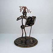 Сувениры и подарки handmade. Livemaster - original item Flutist. Handmade.