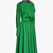 Одежда ручной работы. Ярмарка Мастеров - ручная работа Платье  Изумрудный камень. Handmade.