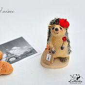 Куклы и игрушки ручной работы. Ярмарка Мастеров - ручная работа Интерьерная игрушка: Ежик Луи. Handmade.