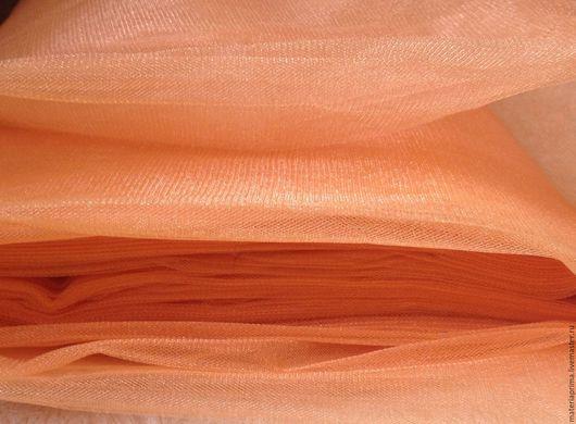 Шитье ручной работы. Ярмарка Мастеров - ручная работа. Купить фатин оранжевый. Handmade. Фатин оранжевый, фатин для туту