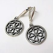 Украшения handmade. Livemaster - original item Molvinets earrings for woman amulet guard. Handmade.