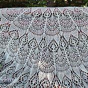 Аксессуары handmade. Livemaster - original item Shawl-Cape openwork Freya. Handmade.