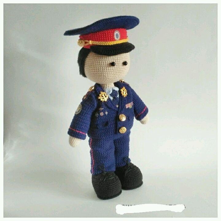 Кукла портретная Сотрудник Полиции, Портретная кукла, Брянск,  Фото №1