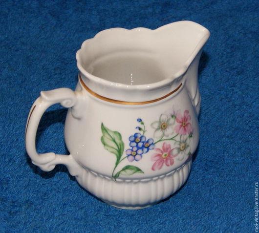 Винтажная посуда. Ярмарка Мастеров - ручная работа. Купить молочник сливочник Porcelana польша 60е.г.. Handmade. Молочник, подарок