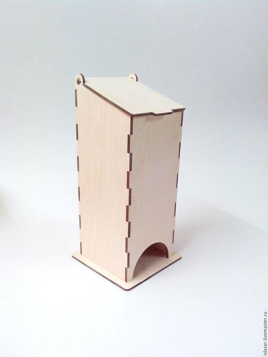 IVL-102-3-210 Чайный домик заготовка для декупажа и росписи