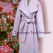 Одежда handmade. Livemaster - original item Coat robe winter with a heater