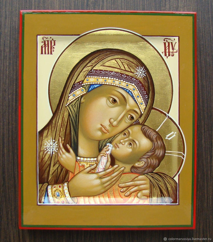 Korsun icon Of the mother of God (handwritten), Icons, Vyazniki,  Фото №1