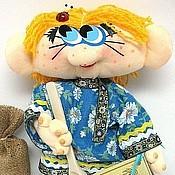 Куклы и игрушки ручной работы. Ярмарка Мастеров - ручная работа Кукла Домовичок Ромашкин. Handmade.