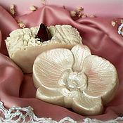 """Косметика ручной работы. Ярмарка Мастеров - ручная работа мыло с нуля """"Ванильное мороженое"""". Handmade."""
