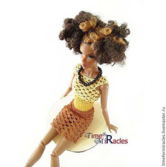 одежда для кукол, fashion royalty, кукольная одежда, одежда для кукол вязаная, платье для fashion royalty купить, одежда для кукол купить, одежда для кукол, Елена, Ярмарка мастеров
