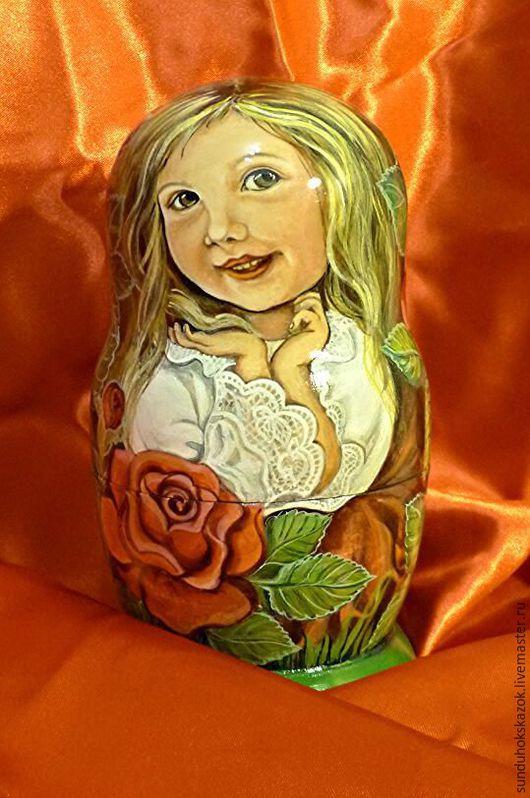 """Шкатулки ручной работы. Ярмарка Мастеров - ручная работа. Купить Матрешка """"Дарёнка"""". Handmade. Зеленый, подарок, подарок на день рождения"""