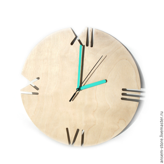 Часы для дома ручной работы. Ярмарка Мастеров - ручная работа. Купить Часы из дерева Норд. Часы ручной работы.. Handmade.