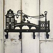 Для дома и интерьера ручной работы. Ярмарка Мастеров - ручная работа Крючки металлические Просто гуляем. Handmade.