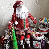 Куклы и игрушки ручной работы. Ярмарка Мастеров - ручная работа Санта Клаус.. Handmade.
