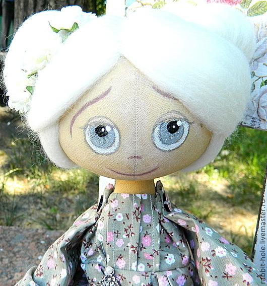 Куклы тыквоголовки ручной работы. Ярмарка Мастеров - ручная работа. Купить Маруся. Handmade. Оливковый, тильда, для детской комнаты