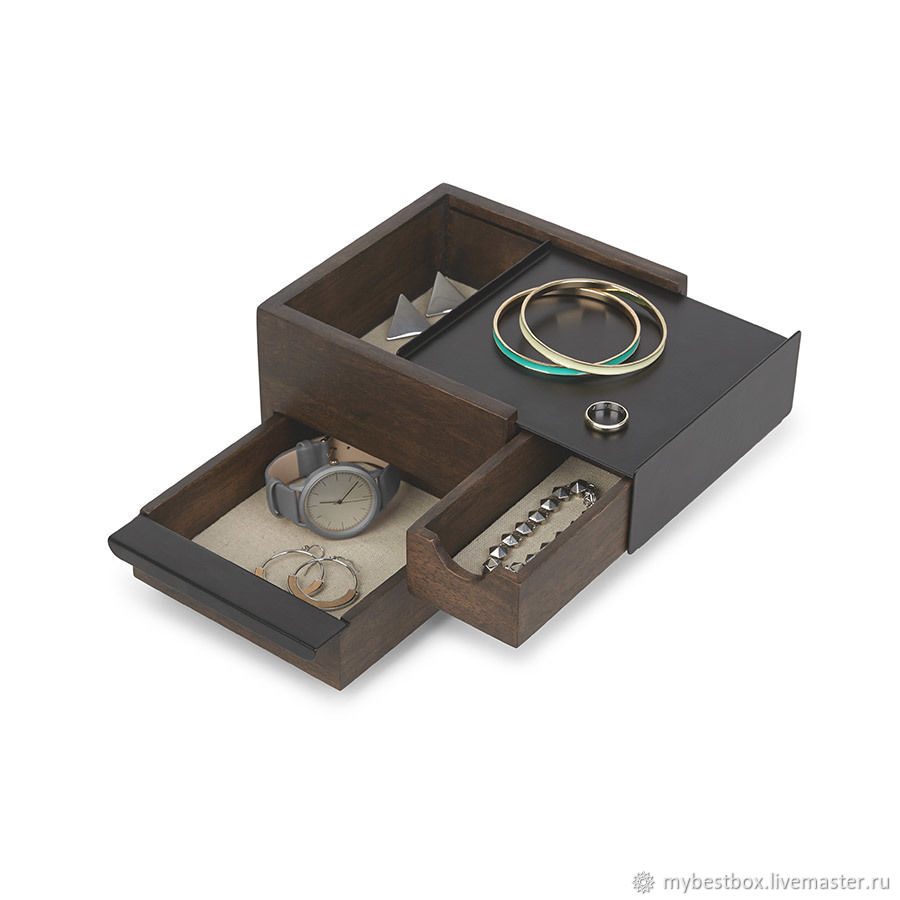 Stowit Mini jewelry box black, Box, Moscow,  Фото №1