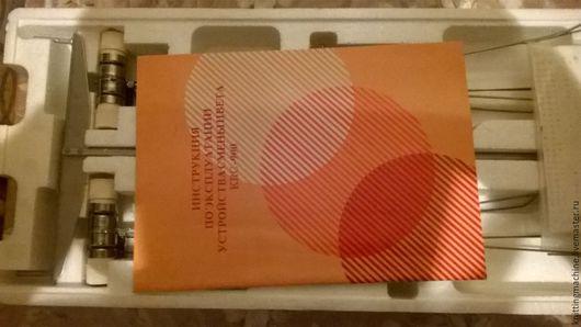 Вязание ручной работы. Ярмарка Мастеров - ручная работа. Купить Сменник цвета KRC 900. Handmade. Белый, вязание, пластик