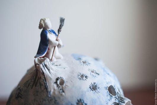 Подсвечники ручной работы. Ярмарка Мастеров - ручная работа. Купить керамический подсвечник Маленький принц. Handmade. Планета, экзюпери, медь