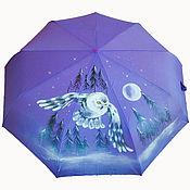 Аксессуары handmade. Livemaster - original item Umbrella painting
