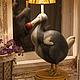 Освещение ручной работы. Лампа Дронт. 500 эскимо. Интернет-магазин Ярмарка Мастеров. Дронт, светильник, ночник, масло