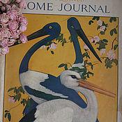 Винтаж ручной работы. Ярмарка Мастеров - ручная работа Старинный журнал для женщин The ladies home journal. Handmade.