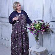 Одежда ручной работы. Ярмарка Мастеров - ручная работа Платье для модели +size. Handmade.