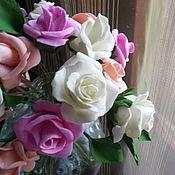 Свадебный салон ручной работы. Ярмарка Мастеров - ручная работа цветы в причёску из фоамирана. Handmade.