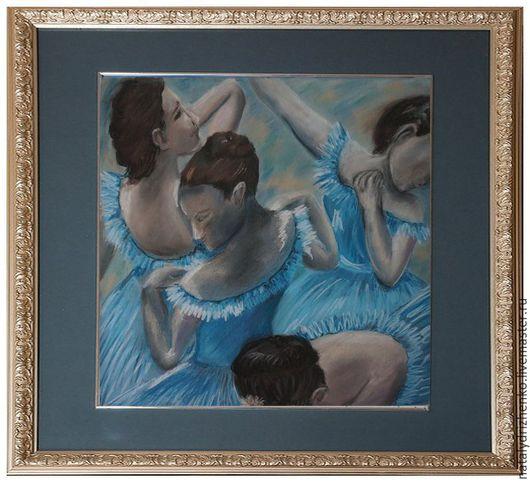"""Люди, ручной работы. Ярмарка Мастеров - ручная работа. Купить Картина пастелью """"Танцовщицы"""". Handmade. Картина пастелью, скидка, недорого"""