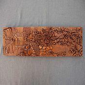Картины и панно handmade. Livemaster - original item Panel Peacocks in the forest. Handmade.