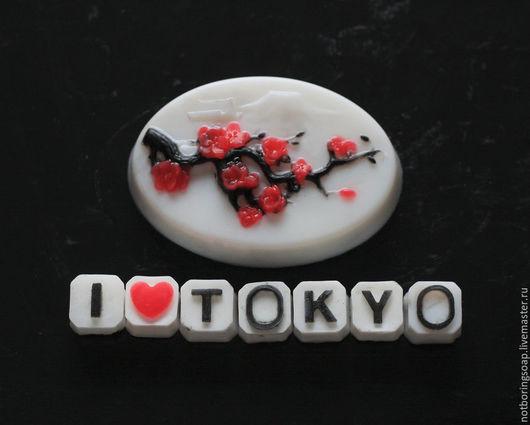 Мыло ручной работы. Япония. Стильный подарок.