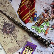 Субкультуры handmade. Livemaster - original item The author`s Magic wand Harry Potter Harry Potter Gryffindor. Handmade.