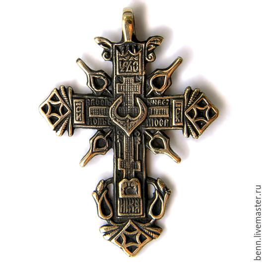 """Кулоны, подвески ручной работы. Ярмарка Мастеров - ручная работа. Купить Кулон """"Православный крест"""" (3). Handmade. Крест, нательный"""