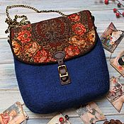 Сумки и аксессуары handmade. Livemaster - original item Crossbody bag: The secret of the heart. Handmade.
