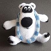 Куклы и игрушки ручной работы. Ярмарка Мастеров - ручная работа Медведь Бернард. Handmade.