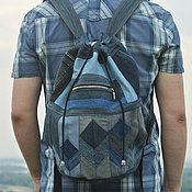 Сумки и аксессуары handmade. Livemaster - original item Backpack denim