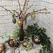 Для дома и интерьера handmade. Livemaster - original item Easter Decor Stylish Easter. Decoupage Easter. Handmade.