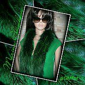 """Одежда ручной работы. Ярмарка Мастеров - ручная работа Жилет """"Сочная зелень"""". Handmade."""