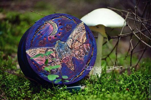 """Шкатулки ручной работы. Ярмарка Мастеров - ручная работа. Купить Шкатулка """"Дыхание Ночи"""". Handmade. Шкатулка, планеты, полнолуние, лак"""