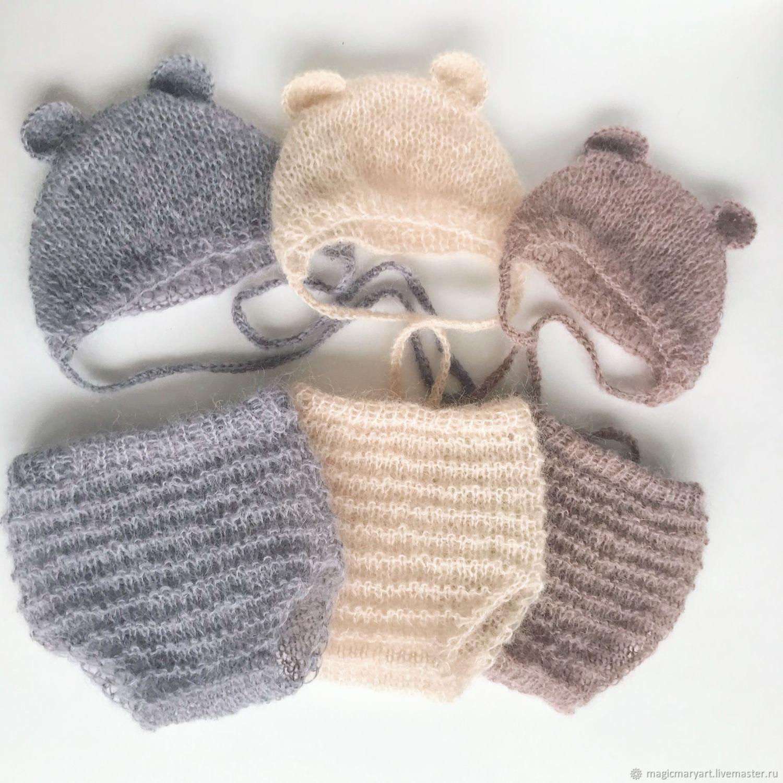 Комплект для фотосессии новорожденных Teddy Bear, Аксессуары для фотосессии, Москва,  Фото №1