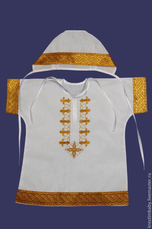 Крестильные принадлежности ручной работы. Ярмарка Мастеров - ручная работа. Купить Крестильный набор. Handmade. Белый, крестильное платье