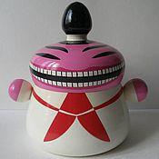 """Посуда ручной работы. Ярмарка Мастеров - ручная работа """"Китайский пионер""""-ёмкость для чая. Handmade."""