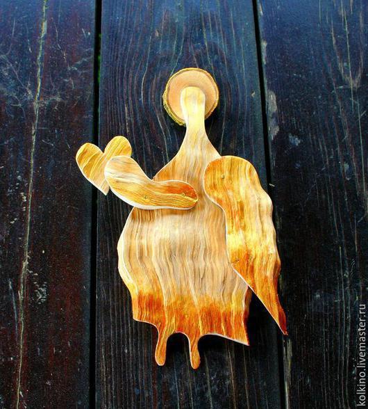 Статуэтки ручной работы. Ярмарка Мастеров - ручная работа. Купить ангелы. Handmade. Рыжий, комель берёзы